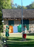Irish Flag Ceremone Glen Innes St Patricks Day 2014