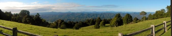 Mountain Top Panorama,  8.30am (Dorrigo NSW)