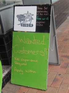 Seen outside a shop in Uralla