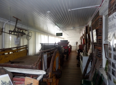 Display of wagons and carriages at the History House Museum Glenn Innes (1)