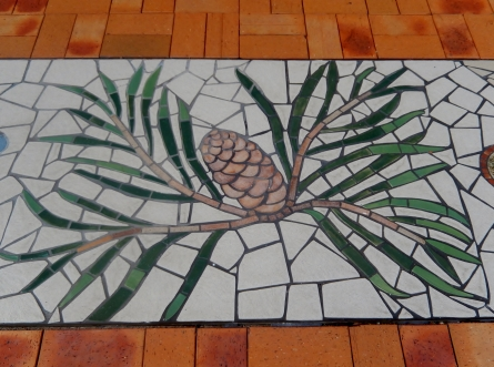 Meandering Macintyre Inverell footpath mosaic (10)