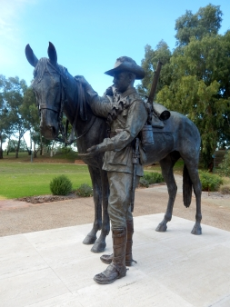 The Waler Light Hors Statue Tamworth