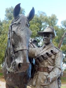 Waler Light Horse Statue Tamworth