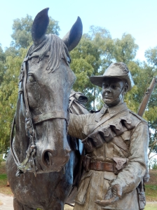 Waler Light Horse Statue Tamworth