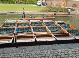 Cambridge Punts Waiting