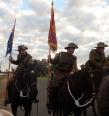 Trundle Light Horse standard bearers