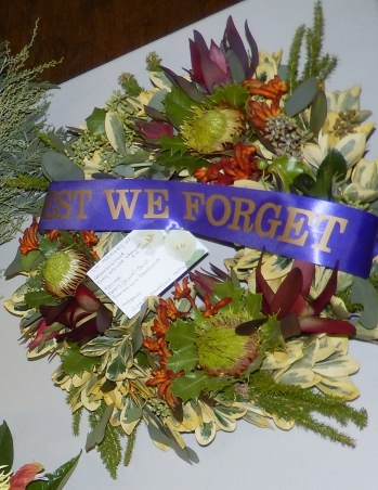Wreath Lest We Forget