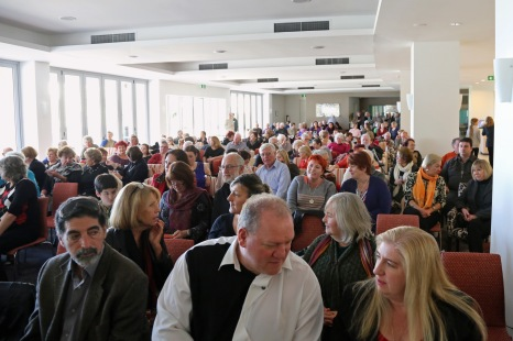 The support crowd for the launch of I Belong to No One, Wollongong, NSW, Sunday 12th July 2015, photo courtesy of Andrew Gray