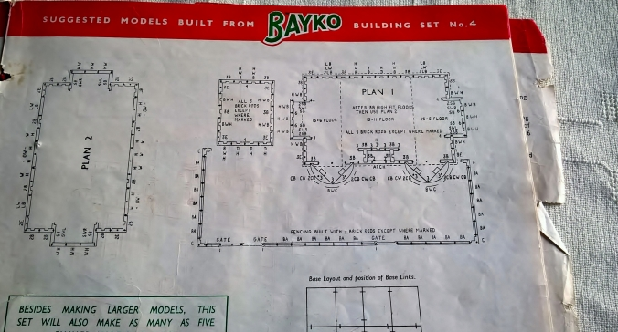 I remember how to read a BAYKO set plan