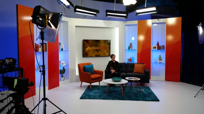 Shooting the IRT Good Life TV programme