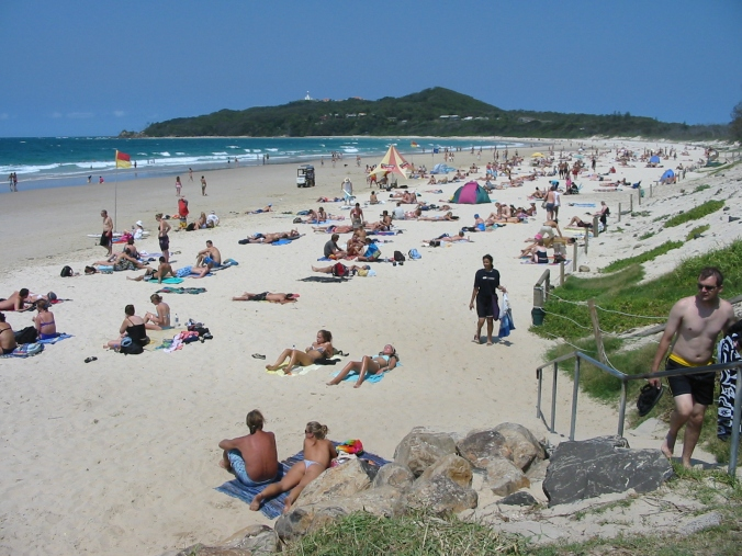Summer at Main Beach NSW