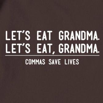 let's eat grandma