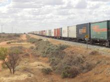 Menindee Lakes and Kinchega Park 2016-03-09 001 Bills Freight Train (1)