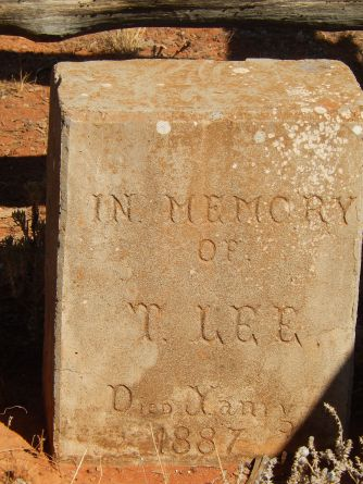 Grave of the Blacksmith Tommy Lee near Wilcannia 2016-03-12Bill Photo (1)