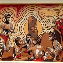 Murals on Community Centre in Broken Hill 2016-03-14 (4)