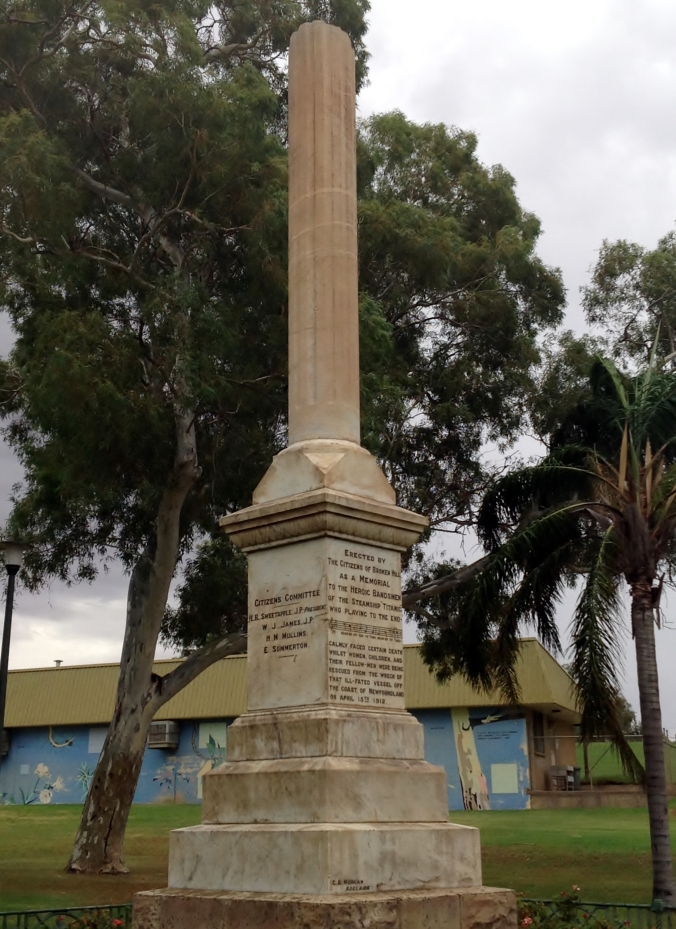 Titanic Memorial Broken Hill 2016-03-13 036 (5)