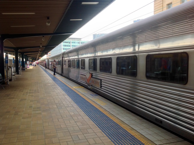 Indian Pacific Sydney Central May 2016