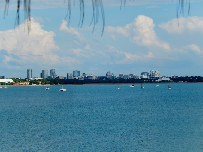 Darwin city skyline, possibly taken from East Point Reserve 29th May 2016