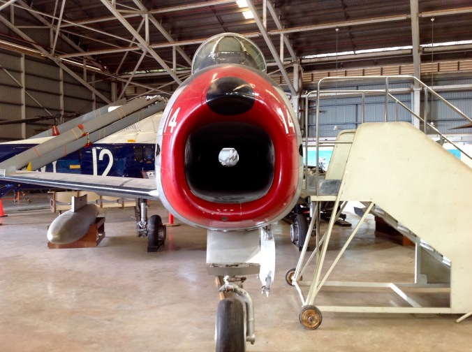 This restored CAC Avon CA-27 Sabre is actually a composite of three different (Sabre) aircraft