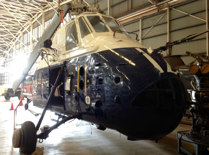This Westland Wessex anti-submarine and search and rescue helicopter assisted in the post disaster support following Cyclone Tracy. Written off in 1989 and rebuilt in 2006.