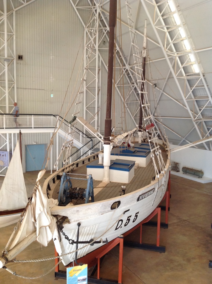 The Vivienne (formerly 'White Star') is a is a pearling lugger built in Broome, Western Australia around 1945, and donated to the museum when it was laid up in 1982.