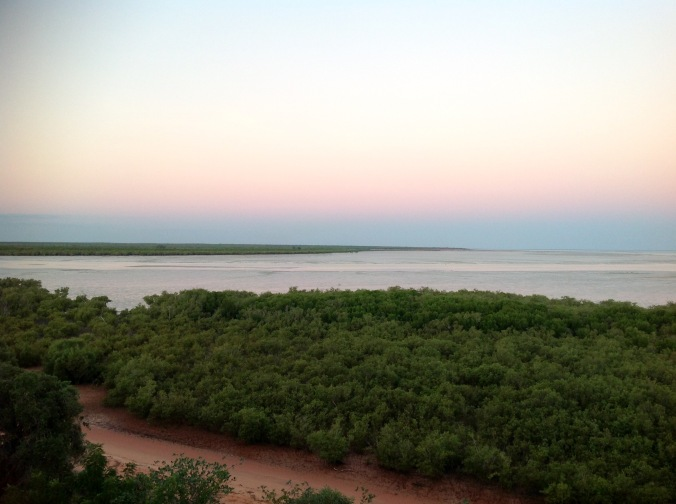 Early evening on Roebuck Bay, Broome, WA, May 2016