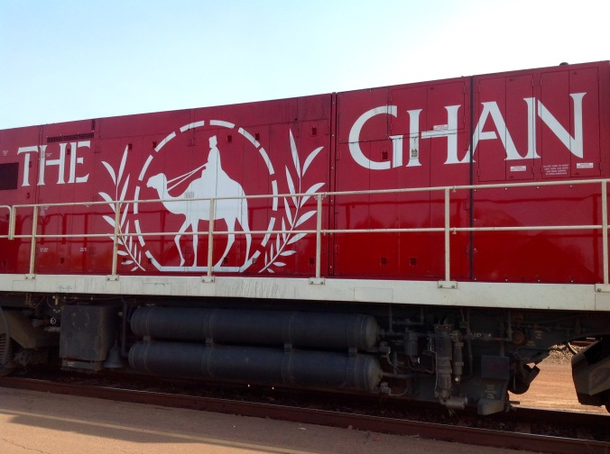 On Board the Ghan 1st June 2016
