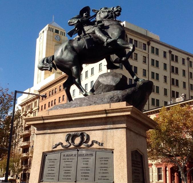 South African War Memorial (South Australia) 4 June 2016