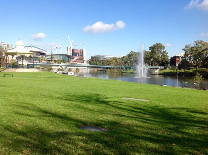 Torrens River Adelaide 4 Jun 2016