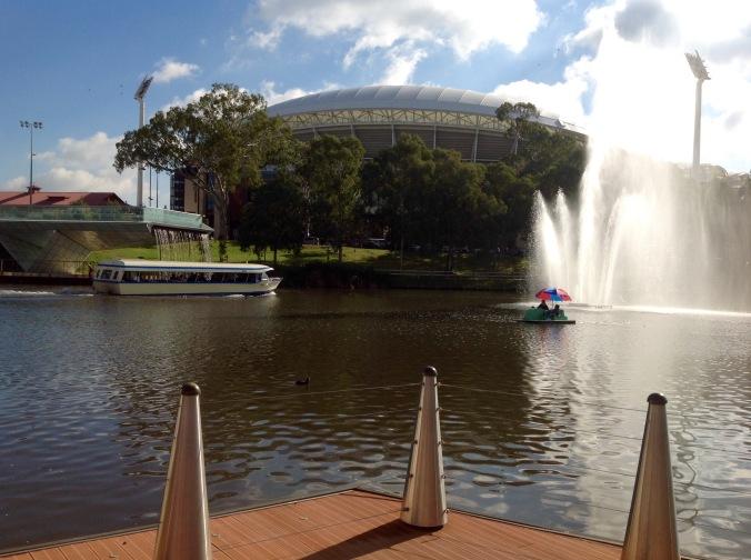 Torrens River, Adelaide 4 Jun 2016
