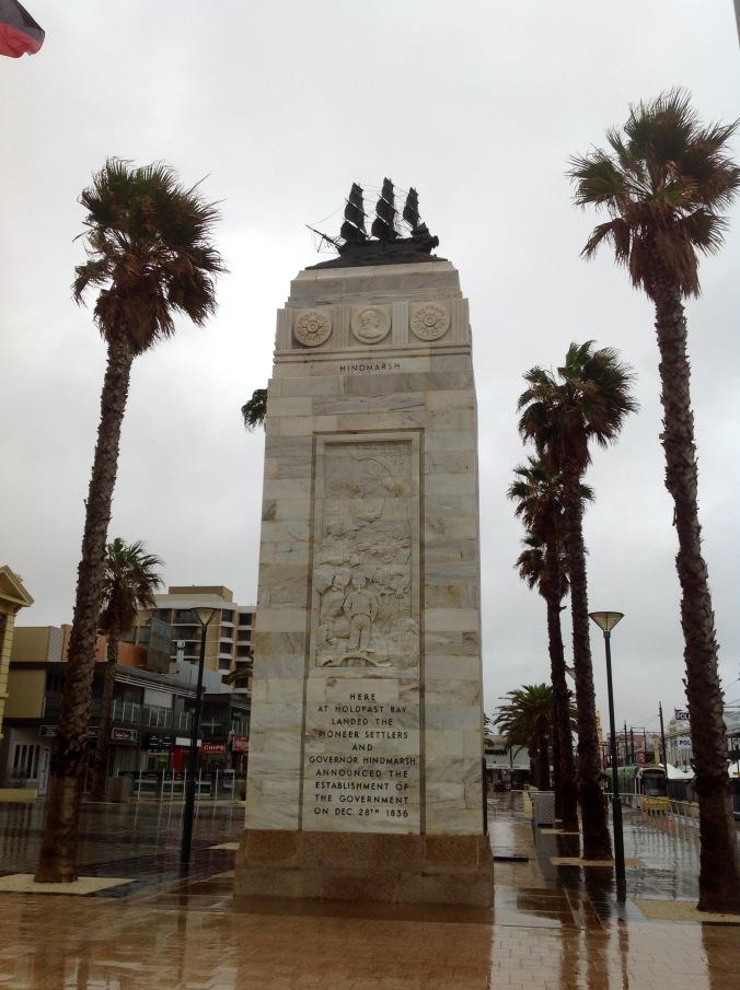 Pioneer Memorial, Glenelg, SA, June 2016