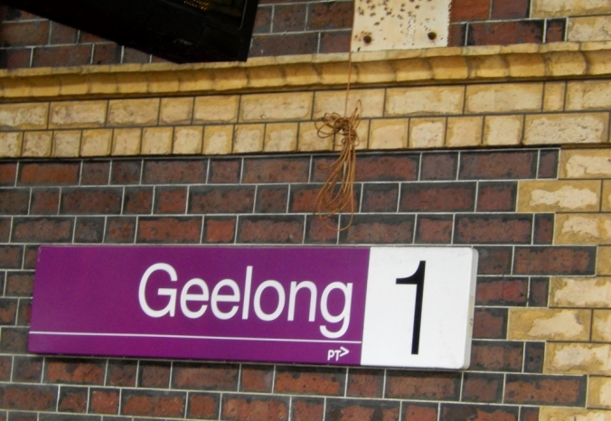 Geelong, Vic, Railway Station Dec 2016