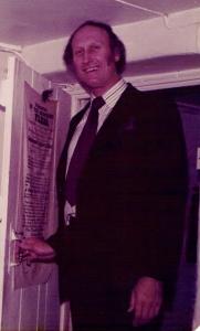 Reg Gifford 1978