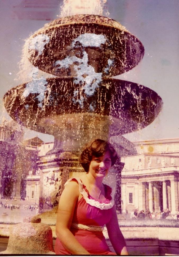 Gwen in Rome Summer 1978 (712x1024)