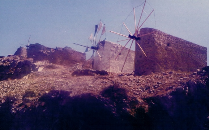 Windmill on the Plateau of Lasithi 1979