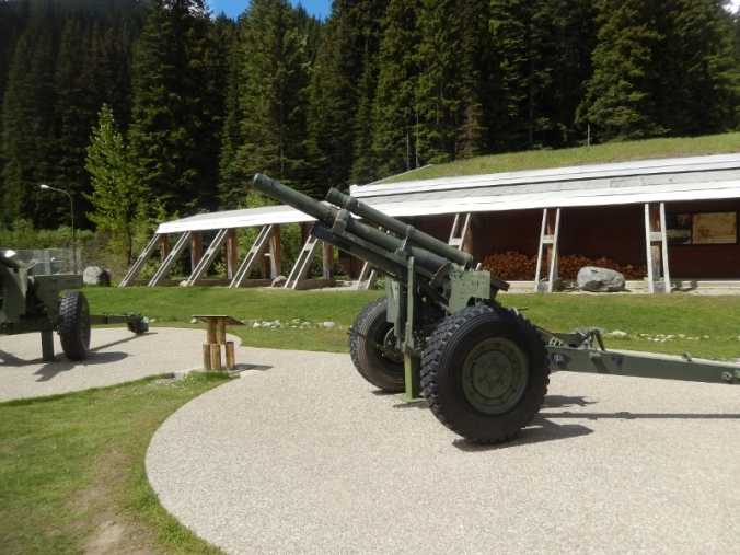 Avalanche Canons at Rogers Pass
