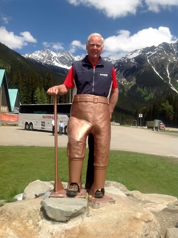 Bill at Rogers Pass Discovery Centre
