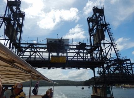 Batemans Bay Lifting Span Bridge Feb 2015 (2)