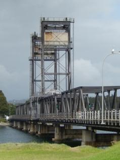 Batemans Bay Lifting Span Bridge Feb 2015