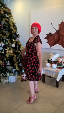 Redheads at the Line Dancing Christmas Party 2018 (1)