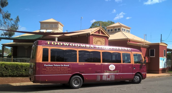 Toowoomba Tourist Bus 12th Mar 2019