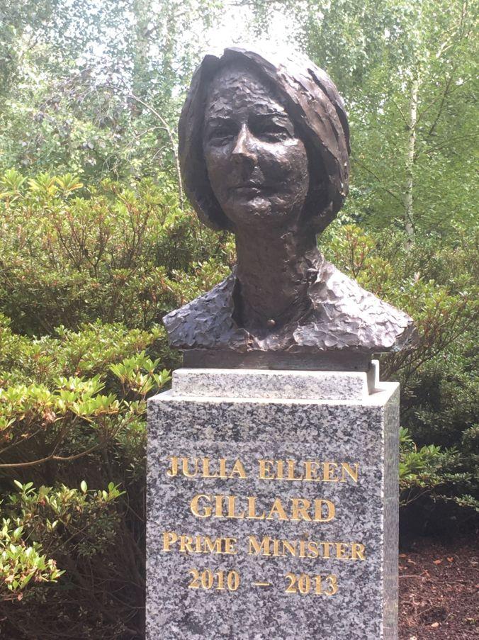 Julia Guillard Prime Minister Walk Ballarat 2020 rs