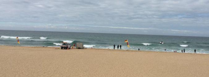 Lifesavers on the beach