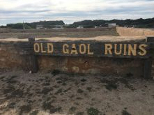 Old Gaol Ruins_Sign rs