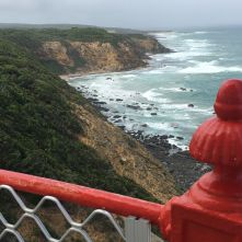 rs From the top of Cape Otway lighthouse