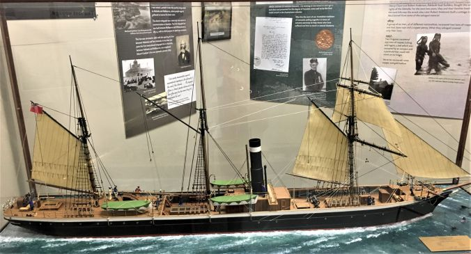 rs Replica of SS Admella at Port MacDonnell SA